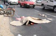 سيارة مجنونة تقتل شخصاً في حادثة مروعة بوجدة !