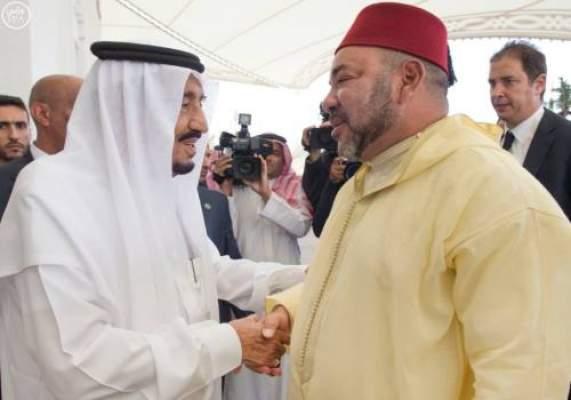 محمد السادس يزور العاهل السعودي بمقر إقامته بطنجة