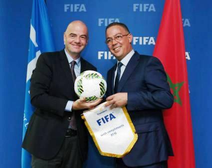 لقجع يعد الفيفا بتحقيق إيرادات قياسية تصل لـ5 ملايير دولار في حال فوز المغرب بتنظيم مونديال 2026