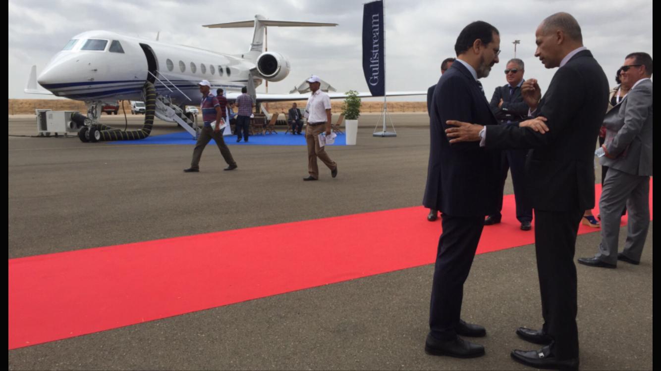 إقبالٌ كبير لمليارديرات المغرب على إمتلاك طائرات خاصة بمعرض مراكش لطائرات رجال الأعمال