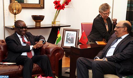 غانا تُشيدُ بالدعم الذي يقدمه المغرب لتكوين أطرها الأمنية