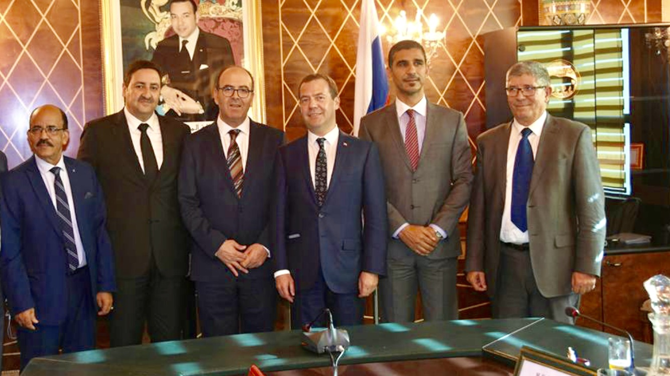 بنشماش والمالكي يستقبلان الوزير الأول الروسي ويشيدان بمستوى العلاقات الروسية المغربية