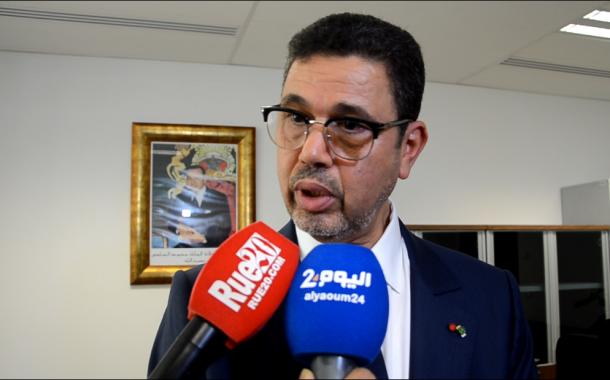 سابقة. عبد النباوي و 'فارس' يؤسسان لتواصل فريد مع القضاة والمحامين