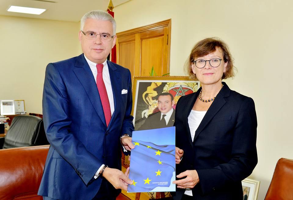 سفيرة جديدة للإتحاد الأوربي بالمغرب تقدم أوراق اعتمادها الرسمية