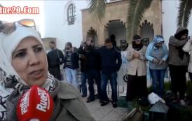 فيديو. الدكاترة المعطلين يضربون عن الطعام أمام وزارة التعليم حتى الموت