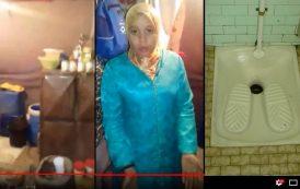 فيديو صادم . مغربية تعيش رفقة أبنائها في المرحاض منذ 6 سنوات
