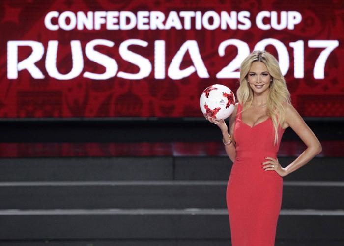 الحسناء الروسية 'لوبيريفا' سفيرة كأس العالم 2018 ترحب بالمغاربة في موسكو