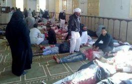 أكثر من 100 قتيل و80 مصاباً بتفجير مسجد في مصر و السيسي يعلن الحداد
