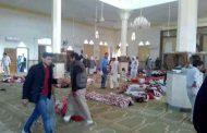 عدد قتلى الهجوم على مسجد بشمال سيناء في مصر يقارب الـ200