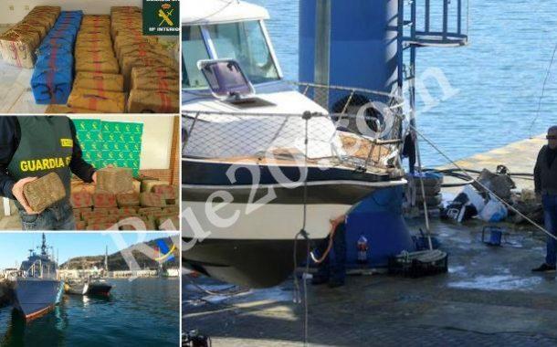 صور و فيديو   الأمن الإسباني يضبط يختاً محملاً بالحشيش قادماً من بحيرة مارتشيكا بالناظور