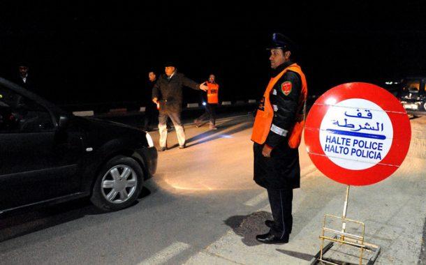 الرصاص يلعلع فجراً بالدارالبيضاء لتوقيف عصابة مسلحة بالسيوف على متن سيارة روعت ساكنة ليساسفة