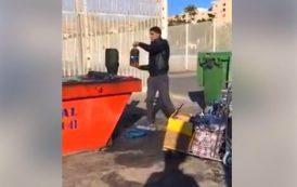 فيديو . الجمارك الإسبانية تمنع مرور كميات كبيرة من زيت الزيتون تبعثها عائلات مغربية لذويها بأوربا
