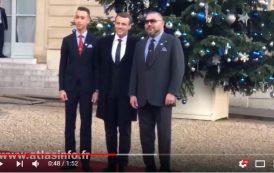 فيديو . الملك و الأمير في ضيافة الرئيس الفرنسي بالإليزيه
