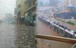 فيديو | ترامواي الرباط يتوقف عن العمل بسبب الفيضانات