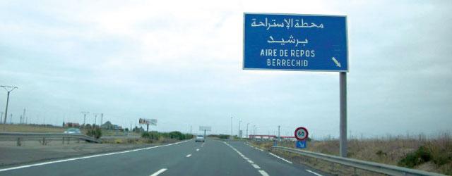 هام لمستعملي لوطوروت . إغلاق جزء من الطريق السيار الدار البيضاء-برشيد