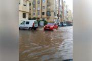 فيديو . الدار البيضاء تغرق بعد تساقطات مطرية غزيرة