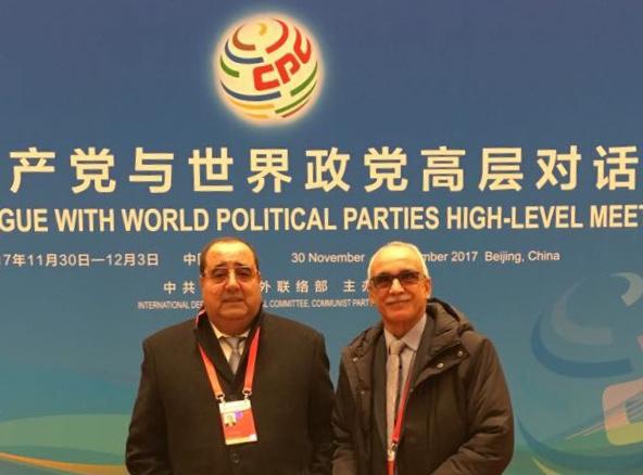 لَشكر: 'الحزب الشيوعي الصيني يتجهُ لفَرض مَوازين قوى جَديدة في العَالم ومشاركتنا كانت مُتميزة'