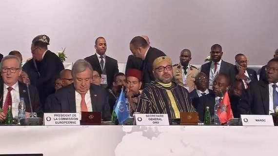 الملك محمد السادس يطلب من غوتيريش التدخل لثني ترامب عن إعلان القدس عاصمةً لإسرائيل