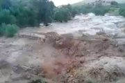 فيديو . ارتفاع مهول لمنسوب وادي ضواحي الصويرة بعد تهاطل أمطار طوفانية