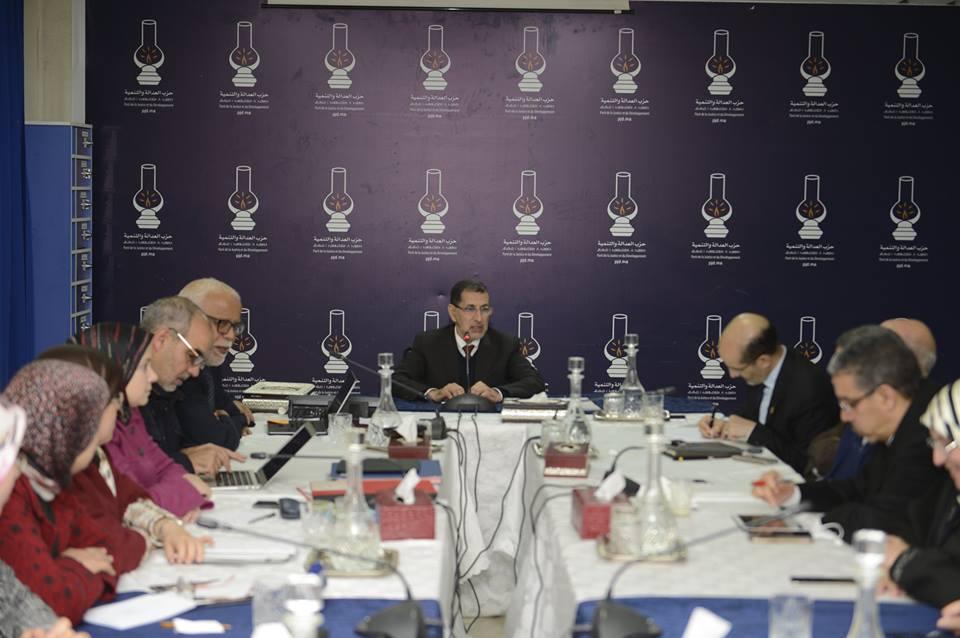 قربالة في 'البيجيدي' بعد مهاجمة بنكيران للأغلبية و العثماني يقرر إلغاء اجتماع الأمانة العامة !