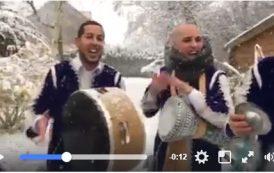 فيديو . شبان ناشطين بالدقة المراكشية وسط الثلوج بإفران