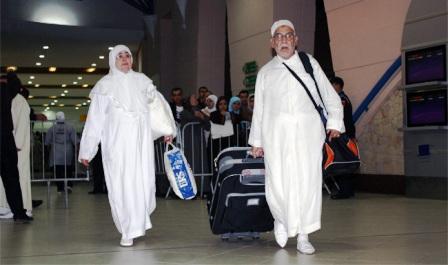 الحجاج المغاربة يتوافدون بالعودة الى أرض الوطن بدايةً من الجمعة