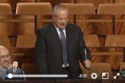 فيديو . شاهدوا أول سؤال لـ'أبرشان' في البرلمان بعد فوزه في الإنتخابات الجزئية بالناضور