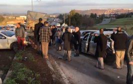 فيديو | هذه تفاصيل حادثة سير غريبة ضواحي الرباط اصطدمت فيها شاحنة بعدة سيارات