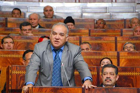 مضيان يسحبُ سؤالاً باسم 'الإستقلال' موجهاً لـ'بُوريطة' حول سحب السفير من السعودية