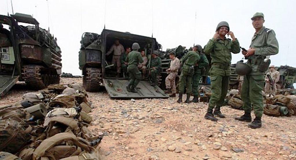 تقرير دولي : نصف الشعب المغربي قادرين على القتال !