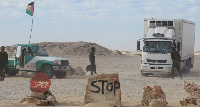 مواجهات دامية بالكركارات .. عصابات مسلحة تعترض شاحنات مغربية متجهة لموريتانيا !