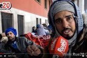 فيديو . مواطنون قادمون من الصحراء يعتصمون و يبيتون أمام البرلمان احتجاجاً على والي كلميم
