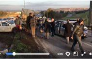 فيديو . حادثة سير مروعة ضواحي الرباط بعد اصطدام عدة سيارات