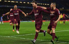 """أبطال أوربا. ميسي ينقذ برشلونة من الهزيمة و بايرن ميونيخ يدك شباك أتراك """"بيشيكطاش' بخماسية"""