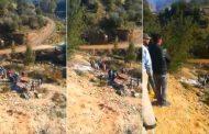 فيديو | حادث سقوط سيارة من منحدر خطير بالريف يخلف قتلى و جرحى