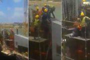 فيديو | شجار بين عمال في ورش بناء المسرح الكبير بالرباط كاد يودي لكارثة !