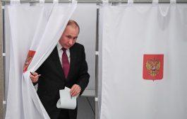 عاجل/بُوتين يُطيح بمنافسه الشيوعي ويخلف نفسه رئيساً لروسيا