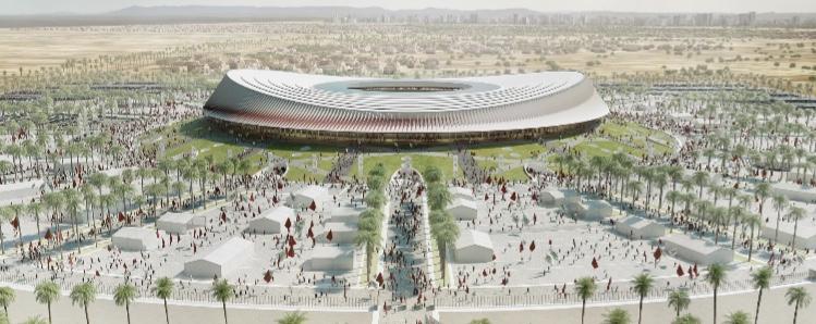 مشروع بناء ملعب الدار البيضاء الكبير يخرج لحيز الوجود و العثماني يوقع على نزع ملكية الأراضي !