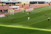 فيديو. شاهدوا الهدف الجميل لأيوب الكعبي في مرمى النادي الإفريقي التونسي