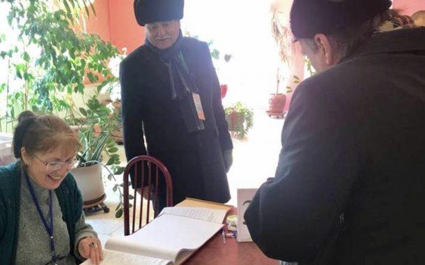 صور/بنعبد الله مراقباً لانتخابات الرئاسة الروسية التي إنهزم فيها الشيوعيون