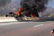 فيديو/حادثة سير خطيرة على لوتوروت أكادير تتسبب في قطع حركة السير
