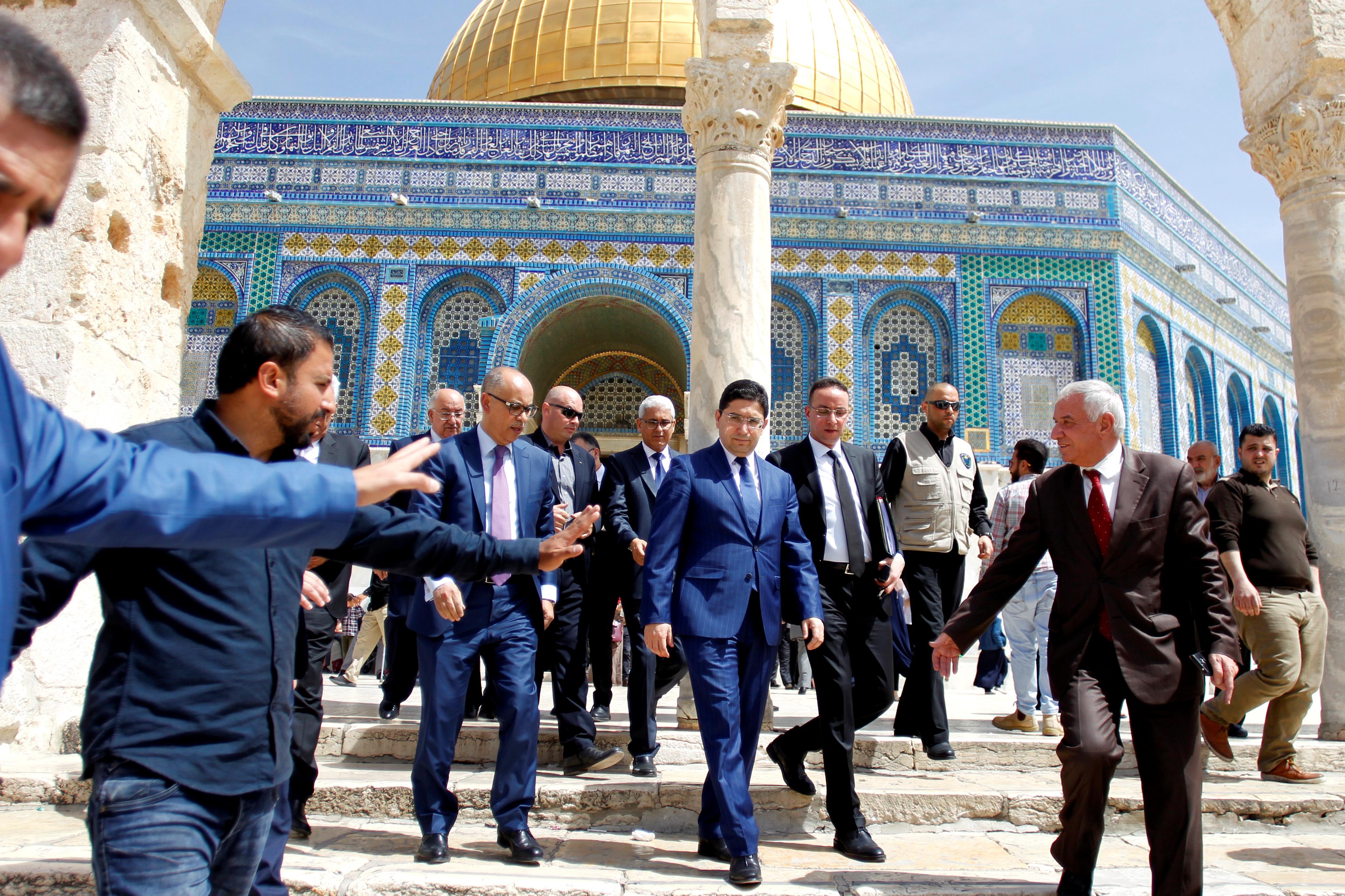 المغرب يدين إطلاق النار بشكل مباشر على الفلسطينيين و يجدد رفضه لنقل السفارة الأمريكية للقدس