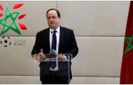 فيديو | الرئيس الفرنسي الأسبق 'هولاند' يعلن دعمه لملف 'المغرب 2026'