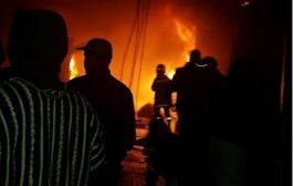 حريق يشب في زنزانة بسجن آيت ملول و معتقلون يصابون باختناقات !