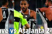 فيديو   مدافع فريق 'أتلانتا' الإيطالي يمزق قميص 'بنعطية' نجم جوفنتوس !