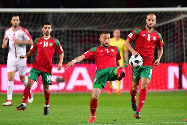 زياش يغادر معسكر المنتخب و يغيب عن ودية ليبيا !