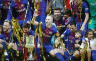 برشلونة يسحق إشبيلية ويحرز كأس ملك إسبانيا للمرة الرابعة على التوالي