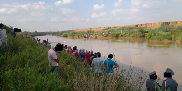 فاجعة | بسبب غياب قنطرة .. غرق أم و أطفالها الثلاثة في نهر أم الربيع !