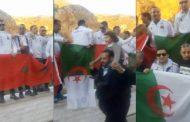فيديو | شبان جزائريون يطالبون بفتح الحدود مع المغرب !