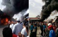 فيديو | حريق مهول بمركز الاوداية نواحي مراكش !